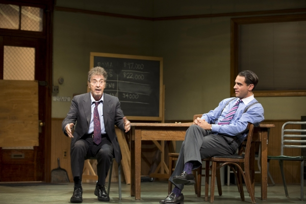 Photo Flash: Al Pacino, Bobby Cannavale, and More in GLENGARRY GLEN ROSS, Opening Tonight on Broadway