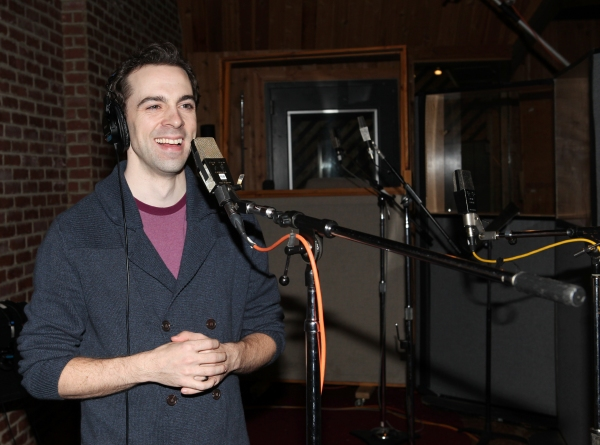 Photo Coverage: Inside CHAPLIN's Cast Recording Session!