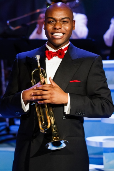 Photo Flash: First Look at Jeremy Giraud Abram as LOUIS ARMSTRONG: JAZZ AMBASSADOR at Theater 3