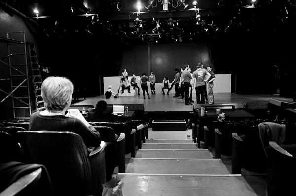 Photo Flash: JOAN OF ARC: VOICES IN THE FIRE in Rehearsal at Columbia Stages' Riverside Theatre