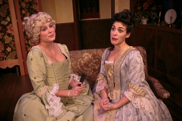 Photo Flash: First Look at Deep Dish Theater's SHE STOOPS TO CONQUER