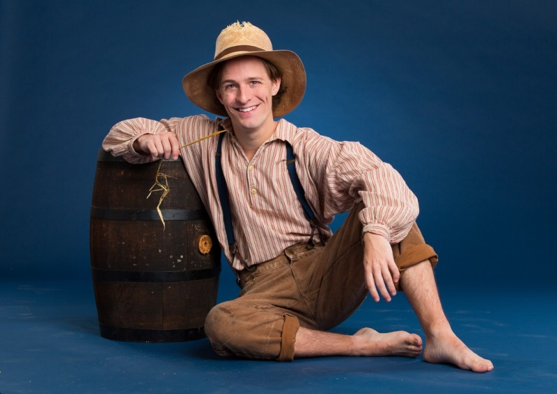 Alex Goley Stars in TheatreWorks' BIG RIVER in Palo Alto, 11/28-12/30