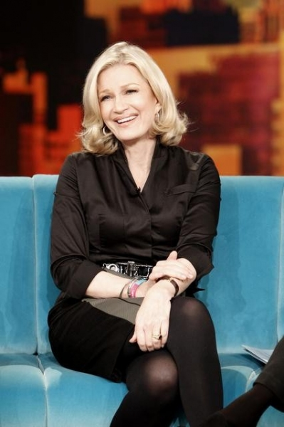 DIANE SAWYER    at JERSEY SHORE Cast on Today's Episode of THE VIEW