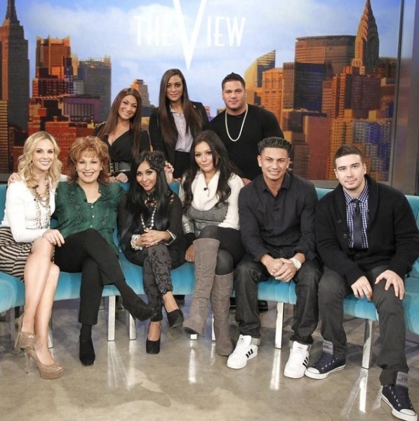 Photo Flash: JERSEY SHORE Cast on Today's Episode of THE VIEW