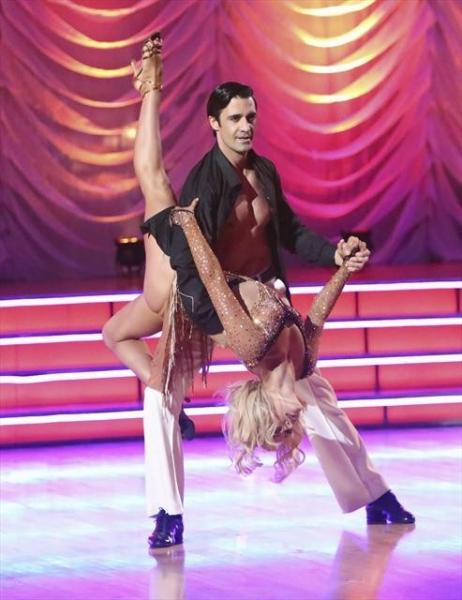 GILLES MARINI, PETA MURGATROYD    at A Look at Last Night's DANCING WITH THE STARS, 11/5