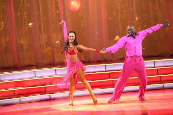 EMMITT SMITH, CHERYL BURKE    Photo