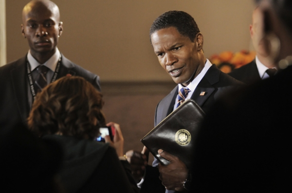 Jamie Foxx  at First Look at WHITE HOUSE DOWN