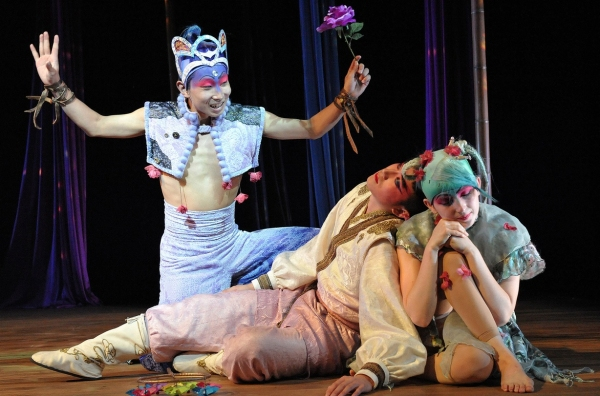 Photo Flash: University of Maryland Crosses Continents with Bilingual Co-Production of MIDSUMMER NIGHT'S DREAM