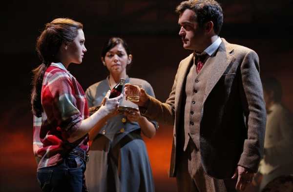 Photo Flash: First Look at Brian d'Arcy James, Kate Baldwin, and More in Public Theater's GIANT!