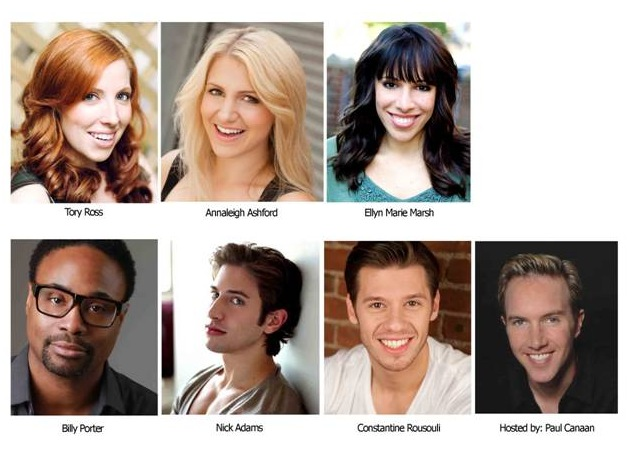 No Bully Presents BROADWAY AGAINST BULLYING Cabaret in San Francisco, 12/3