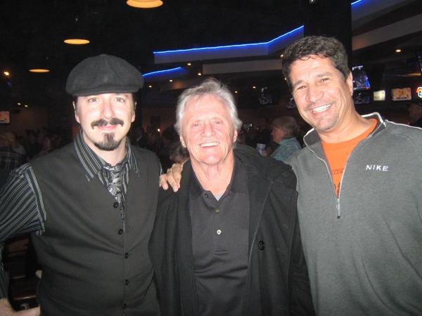 Play It Forward Executive Director John Sheil, founder Gary Burbank and comedian Steve Caminiti