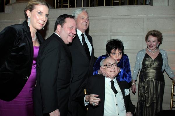 Margo Nederlander, James L. Nederlander, Robert Osborne, James M. Nederlander, Liza Minnelli, Charlene Nederlander