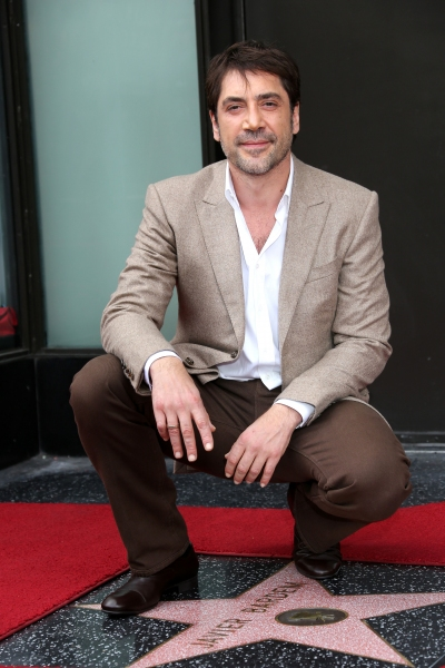 Photo Flash: Javier Bardem Honored With Star on Hollywood Walk of Fame