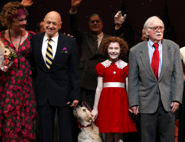 Photo Coverage: Inside Opening Night of ANNIE Opening- the Curtain Call!
