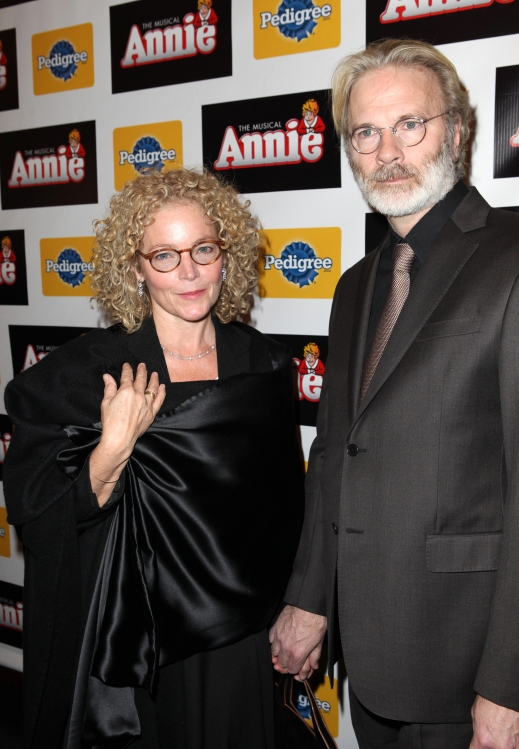High Res Amy Irving & husband Kenneth Bowser