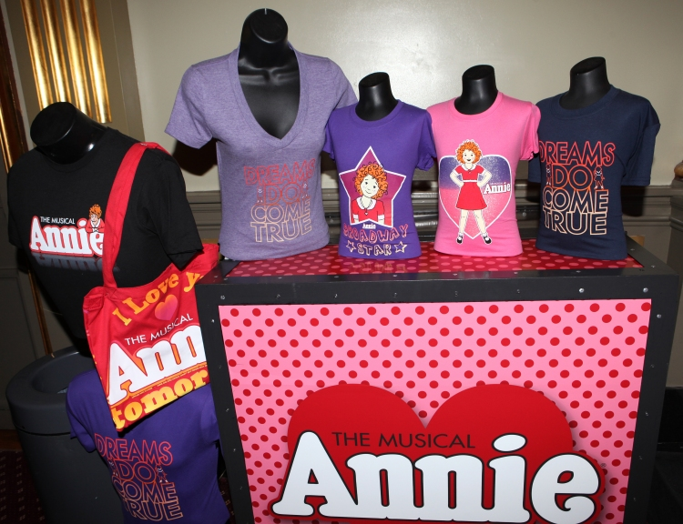 High Res Annie Merchandise