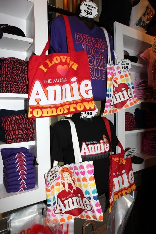 High Res Annie Merchandise