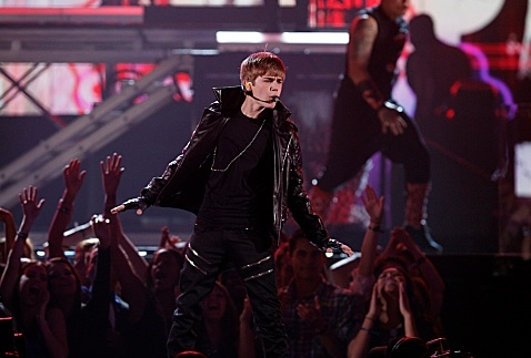 Justin Bieber at First Look - Justin Bieber, Rihanna & More Set for VICTORIA SECRET FASHION SHOW on CBS