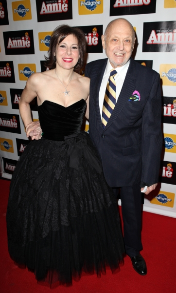 Producer Arielle Tepper Madover & Charles Strouse at Inside Opening Night of ANNIE with Anthony Warlow, Lilla Crawford, Katie Finneran and More!