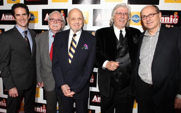 Andy Blankenbuehler, Thomas Meehan, Charles Strouse, Martin Charnin & James Lapine