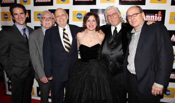 Andy Blankenbuehler, Thomas Meehan, Charles Strouse, Arielle Tepper Madover, Martin Charnin & James Lapine