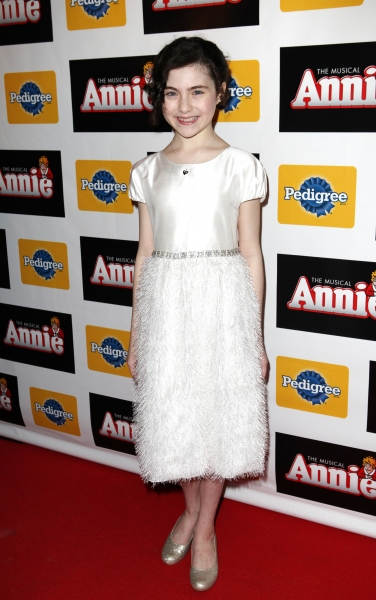 Lilla Crawford at Inside Opening Night of ANNIE with Anthony Warlow, Lilla Crawford, Katie Finneran and More!