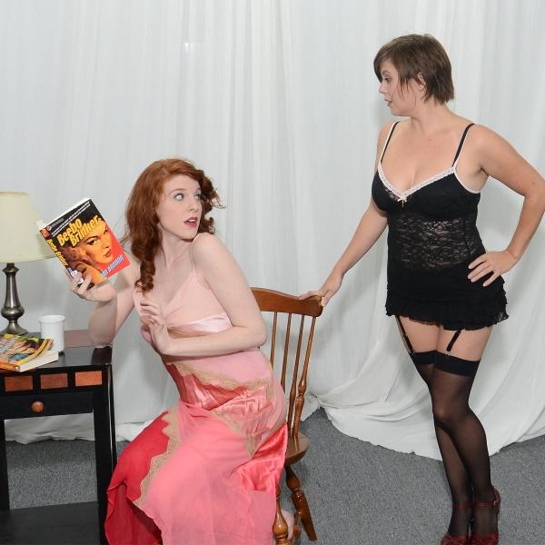 L to R: Margaret Lewis and Autumn Clack. Photo
