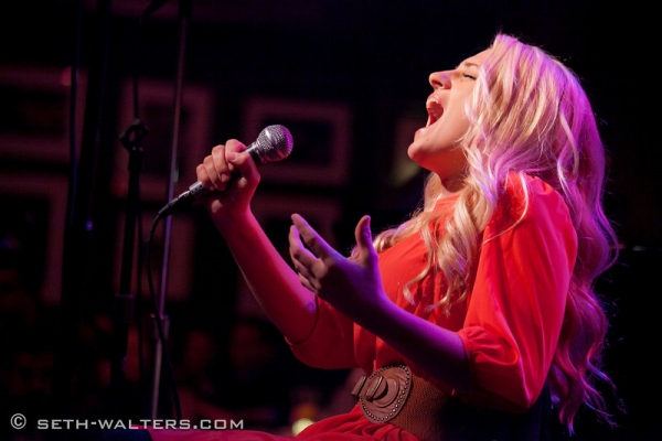 Ali Stroker at Kate Shindle, Raymond J. Lee and More Featured in Bobby Cronin Concert at Birdland