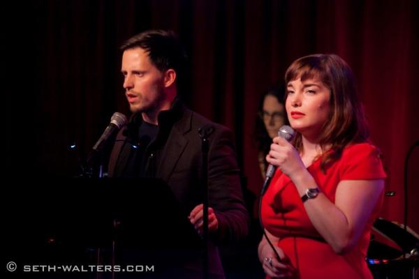 Andrew C Call and Rebecca Trehearn Photo