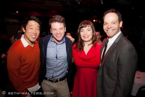 Raymond J Lee, Brian Letendre, Rebecca Trehearn, and Bobby Cronin Photo