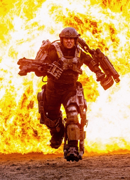Photo Flash: First Look - Tom Cruise in ALL YOU NEED IS KILL