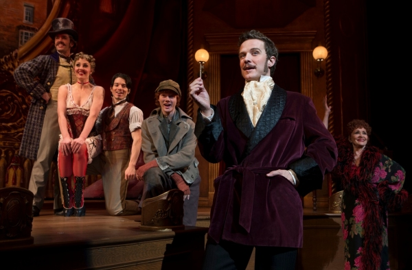 Photo Flash: First Look at THE MYSTERY OF EDWIN DROOD- Production Shots!