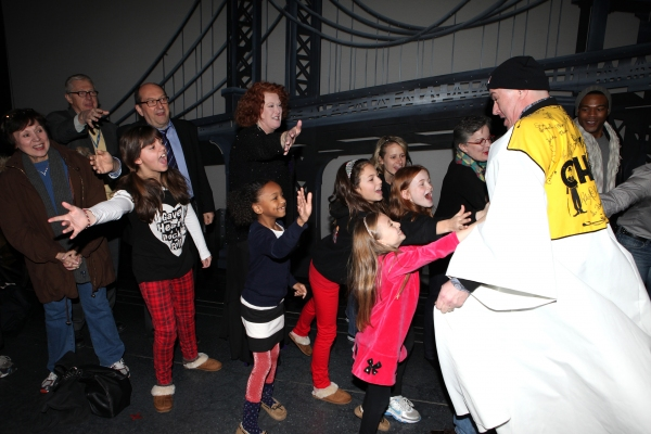 EXCLUSIVE Photo Coverage: Inside ANNIE's Gypsy Robe Ceremony