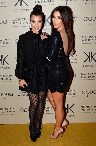 Fashion Photo of the Day 11/9/12 - Kourtney & Kim Kardashian