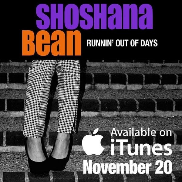Photo Flash: Shoshana Bean to Release 'Runnin' Out of Days' Single on iTunes, Nov 20!