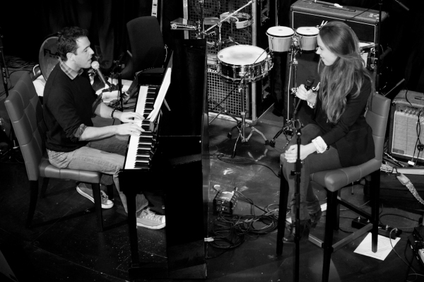 Photo Flash: Sierra Boggess and More Join Scott Alan's Impromptu Concert at Hippodrome Casino!