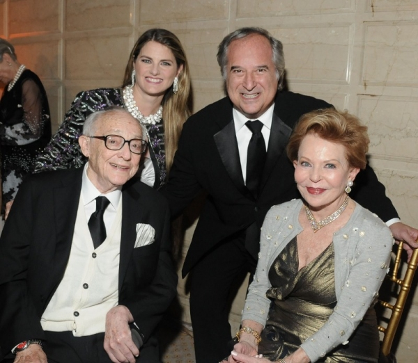 James M. Nederlander, Bonnie Comley, Stewart Lane, Charlene Nederlander Photo