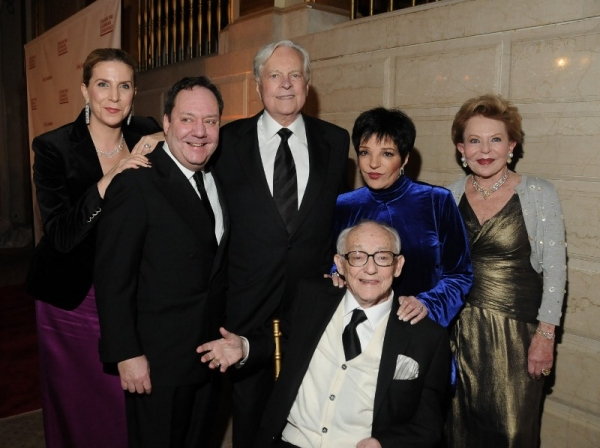 Margo Nederlander, James L. Nederlander, Robert Osborne, Liza Minnelli, Charlen Nederlander, James M. Nederlander at Liza Minnelli, The Nederlanders and More at 'Living Landmarks' Fall 2012 Gala