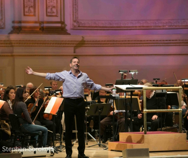 Photo Coverage: Conductor Steven Reineke Rehearses The New York Pops at Carnegie Hall