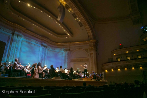 Carnegie Hall at Conductor Steven Reineke Rehearses The New York Pops at Carnegie Hall