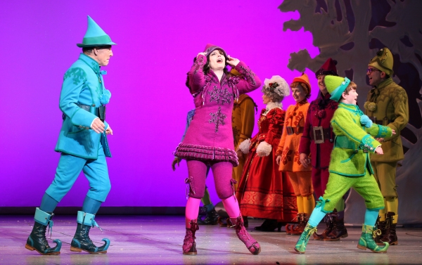 Photo Coverage: ELF's Opening Night Curtain Calls on Broadway - Jordan Gelber, Leslie Kritzer and More!