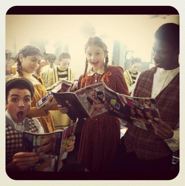 Photo Flash: Saturday Intermission Pics, Nov 10 - Green Edition!