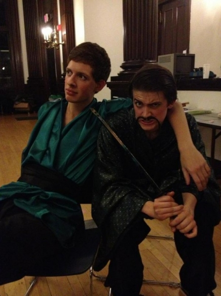 Photo Flash: Saturday Intermission Pics, Nov 10 - Green Edition!