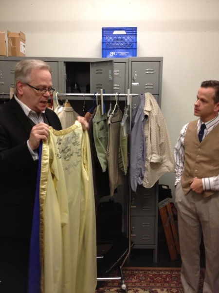 Photo Coverage: The First Night Robe is Presented to OUTSIDE PARADISE's Clay Steakley