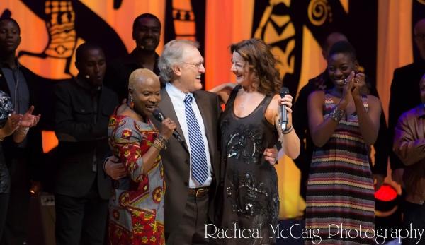 Angelique Kidjo, Stephen Lewis and Sarah McLachlan  Photo