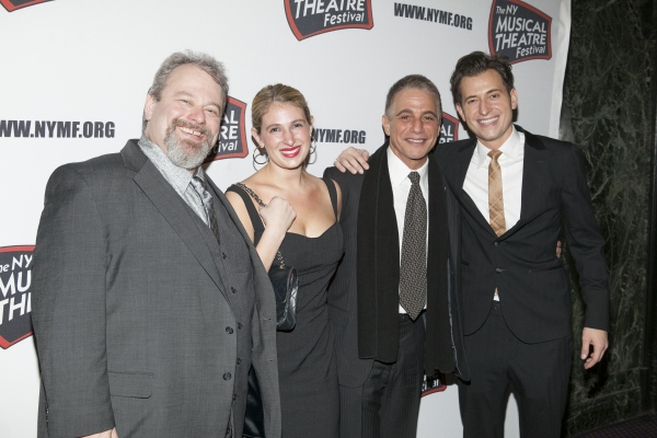 Eric Leviton, Pia Cincotti, Tony Danza and Peter Cincotti