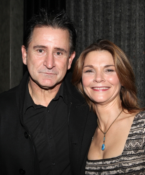 Anthony LaPaglia & Kathryn Erbe