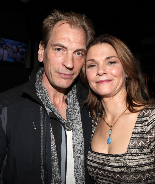Julian Sands & Kathryn Erbe