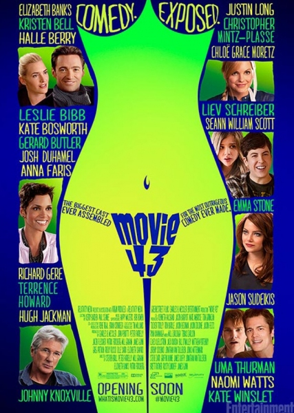 Photo Flash: First Look - Poster Art for MOVIE 43