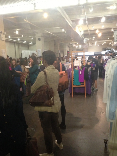 Photo Coverage: Rebecca Minkoff and Hanky Panky Sample Sales